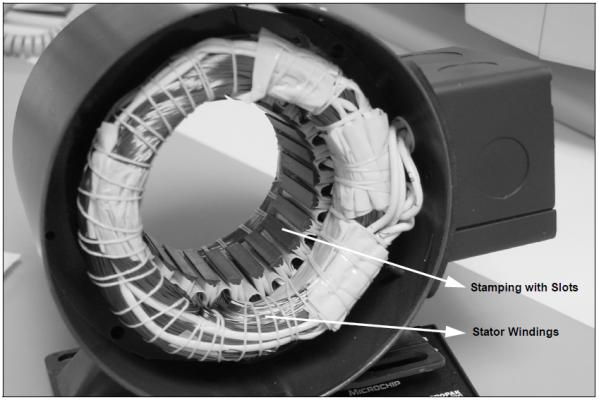 Stator động cơ Brushless