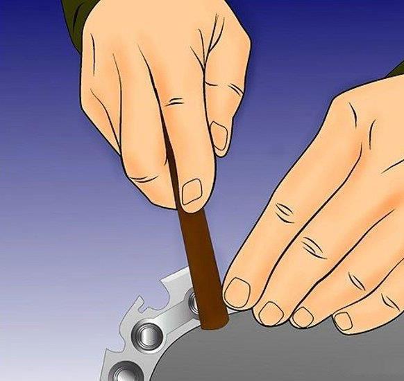 Bước 11:Nếu có răng nào không đều so với răng trước đó.