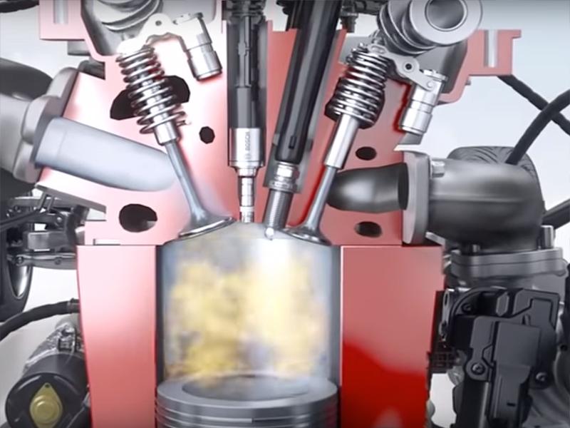 Nguyên lý làm việc của hệ thống phun xăng trực tiếp GDI:
