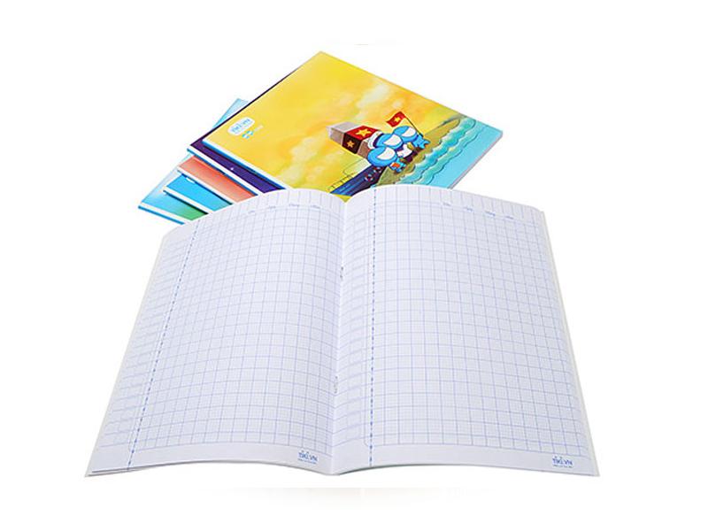 Quy trình sản xuất giấy vở học sinh