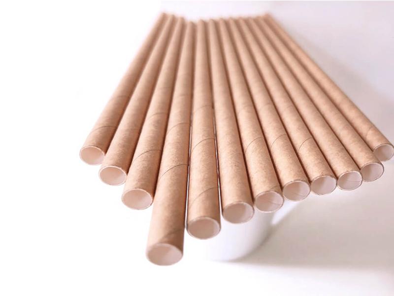 Sản xuất ống hút giấy