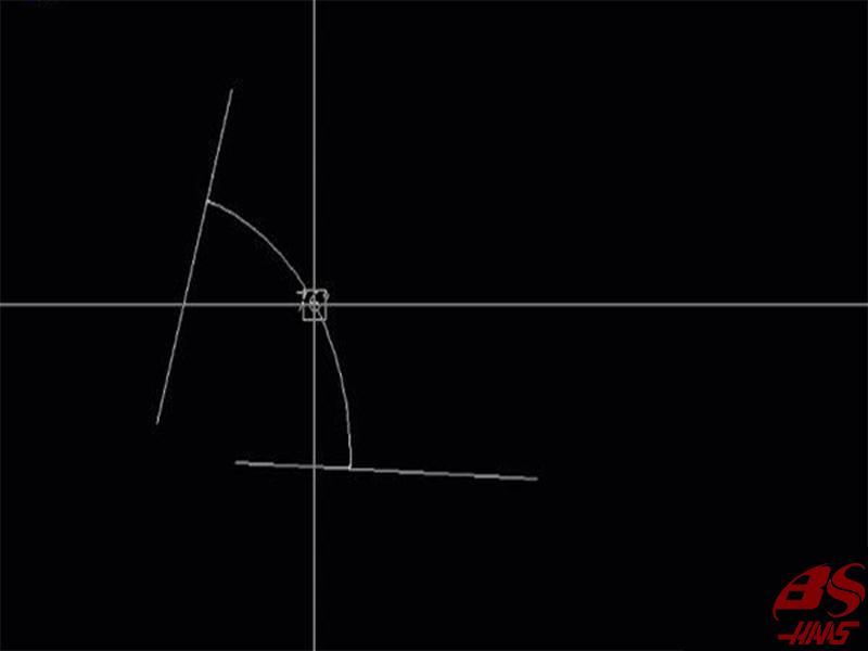Cách 1: Đo góc giữa hai đoạn thẳng