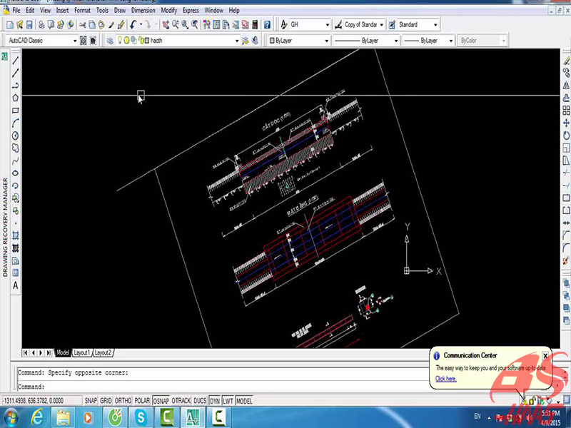 Lệnh xoay trong CAD 3D