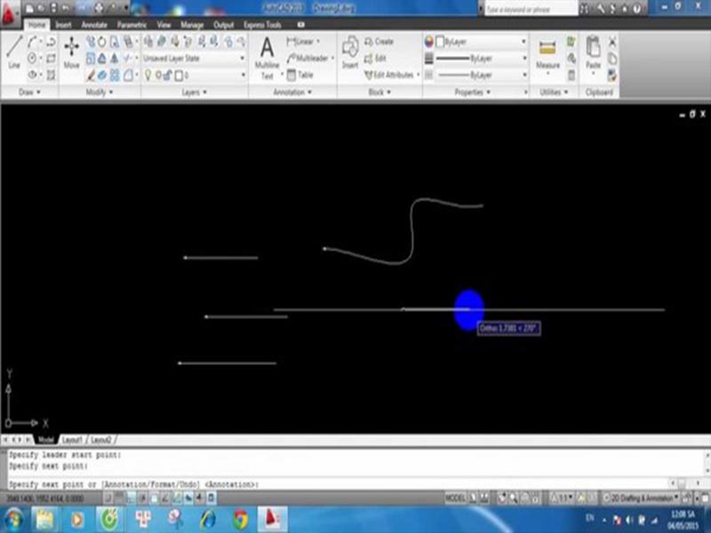 Lưu ý khi sử dụng lệnh vẽ đường cong Spline