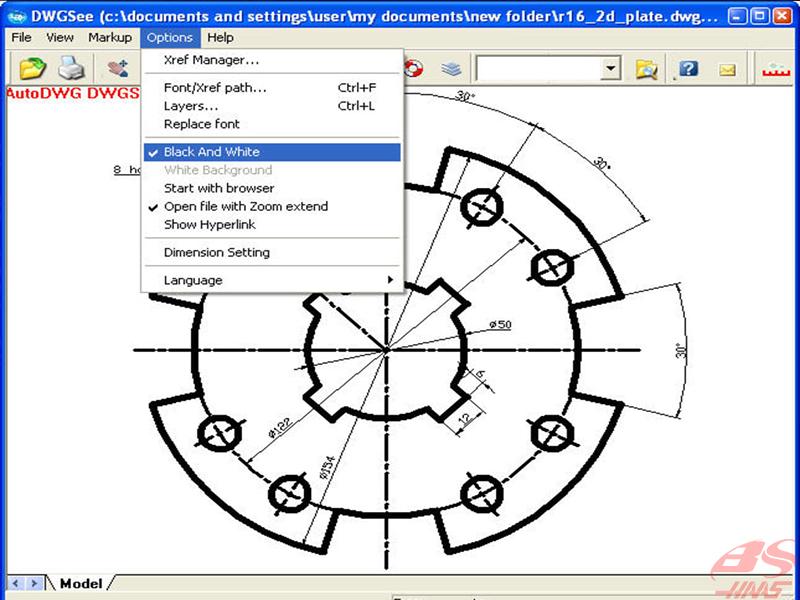 Phần mềm mở file .dwg
